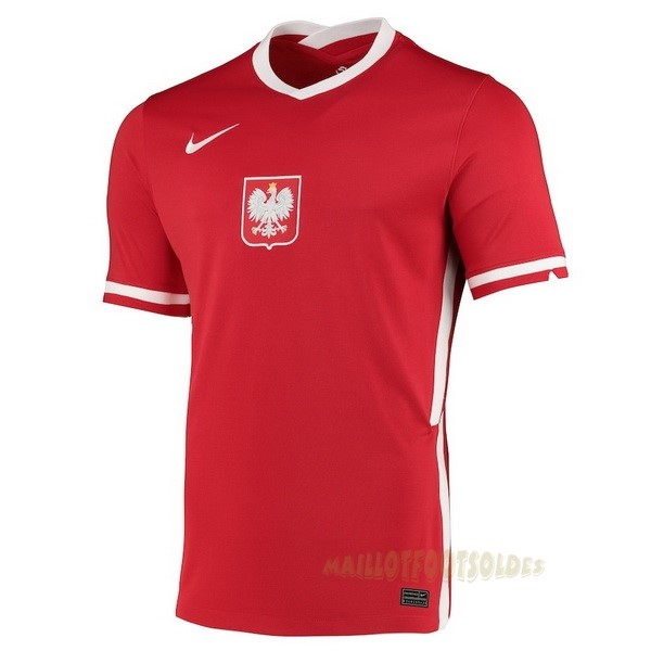 Pas Cher Maillot Foot Nike Exterieur Maillot Pologne 2020 Rouge