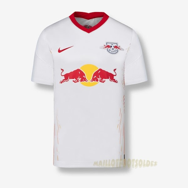 Pas Cher Maillot Foot Nike Domicile Maillot Leipzig 2020 2021 Blanc