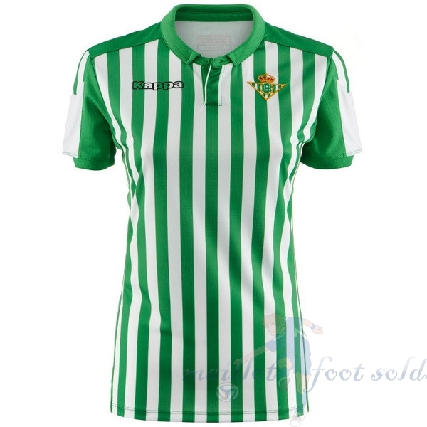 Pas Cher Maillot Foot Kappa Domicile Maillot Femme Real Betis 2019 2020 Vert