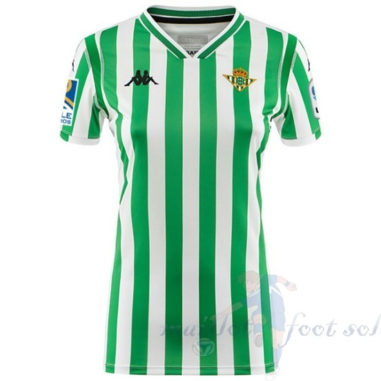 Pas Cher Maillot Foot Kappa Domicile Maillot Femme Real Betis 2018 2019 Vert