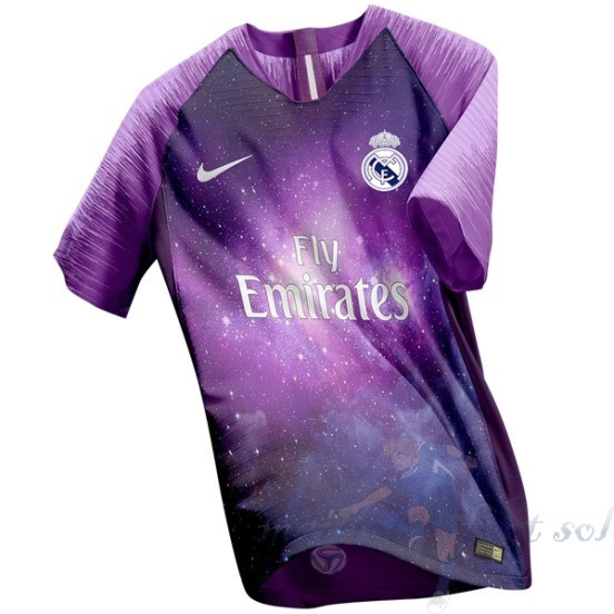 Pas Cher Maillot Foot Nike Maillot Real Madrid 2018 2019 Purpura