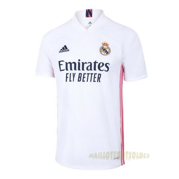 Pas Cher Maillot Foot adidas Domicile Maillot Real Madrid 2020 2021 Blanc