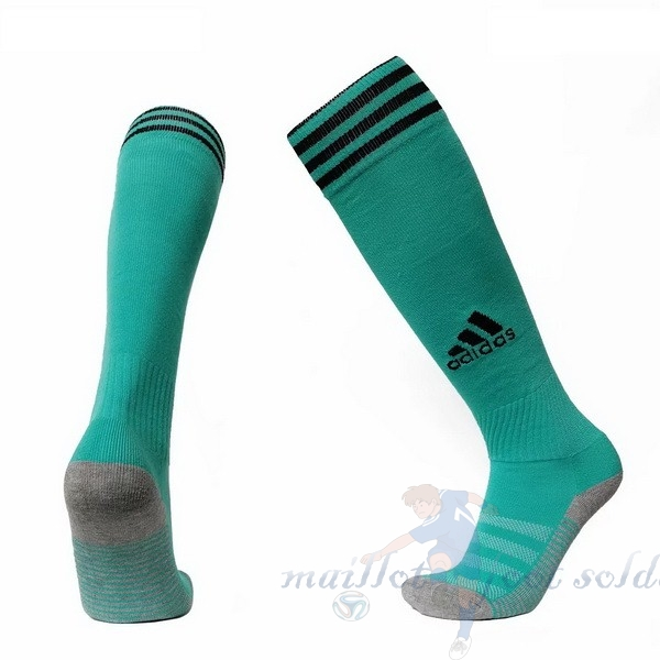 Pas Cher Maillot Foot adidas Third Chaussette Real Madrid 2019 2020 Vert