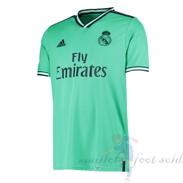 Pas Cher Maillot Foot adidas Thailande Third Maillot Real Madrid 2019 2020 Vert