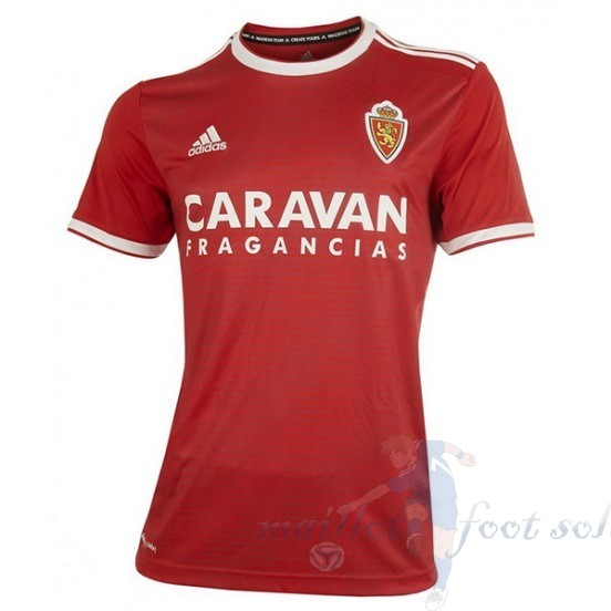 Pas Cher Maillot Foot Adidas Exterieur Maillot Real Zaragoza 2018 2019 Rouge