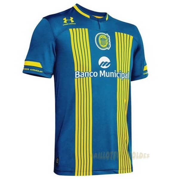 Pas Cher Maillot Foot Under Armour Domicile Maillot CA Roserio Central 2020 2021 Bleu Jaune