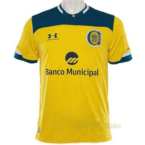 Pas Cher Maillot Foot Under Armour Exterieur Maillot CA Roserio Central 2020 2021 Jaune