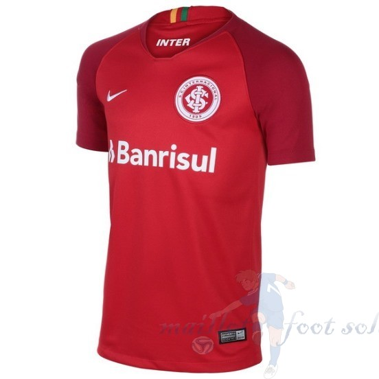 Pas Cher Maillot Foot Nike Domicile Maillot Internacional 2018 2019 Rouge