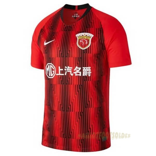 Pas Cher Maillot Foot Nike Domicile Maillot SIPG 2020 2021 Rouge