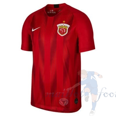 Pas Cher Maillot Foot Nike Domicile Maillot SIPG 2019 2020 Rouge