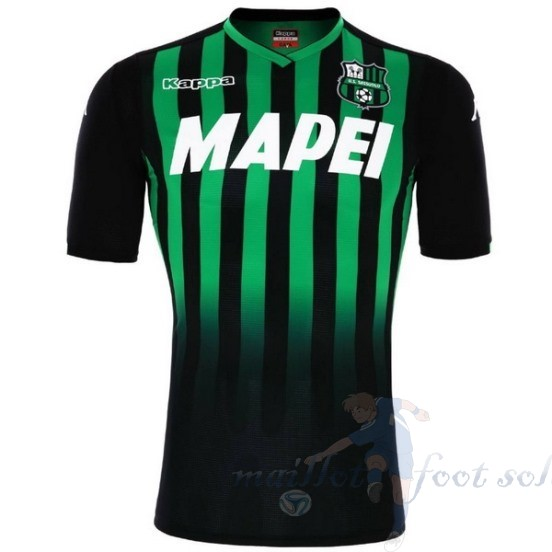Pas Cher Maillot Foot Kappa Domicile Maillot Sassuolo 2018 2019 Vert