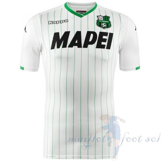 Pas Cher Maillot Foot Kappa Exterieur Maillot Sassuolo 2018 2019 Blanc