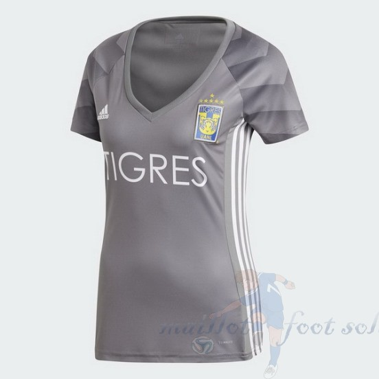 Pas Cher Maillot Foot Adidas Third Maillot Femme Tigres Uanl 2018 2019 Gris
