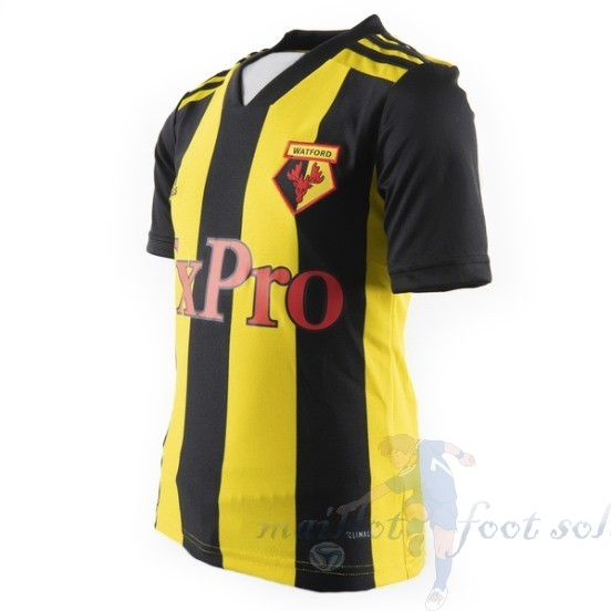 Pas Cher Maillot Foot Adidas Domicile Maillot Watford 2018 2019 Jaune