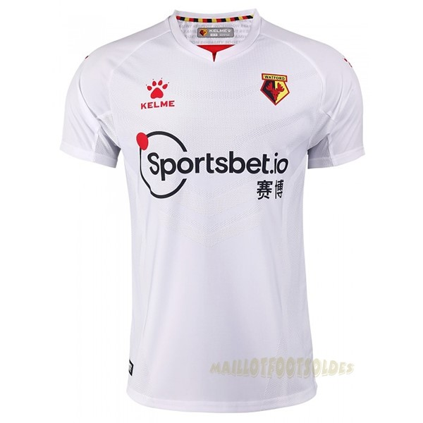 Pas Cher Maillot Foot adidas Exterieur Maillot Watford 2020 2021 Blanc