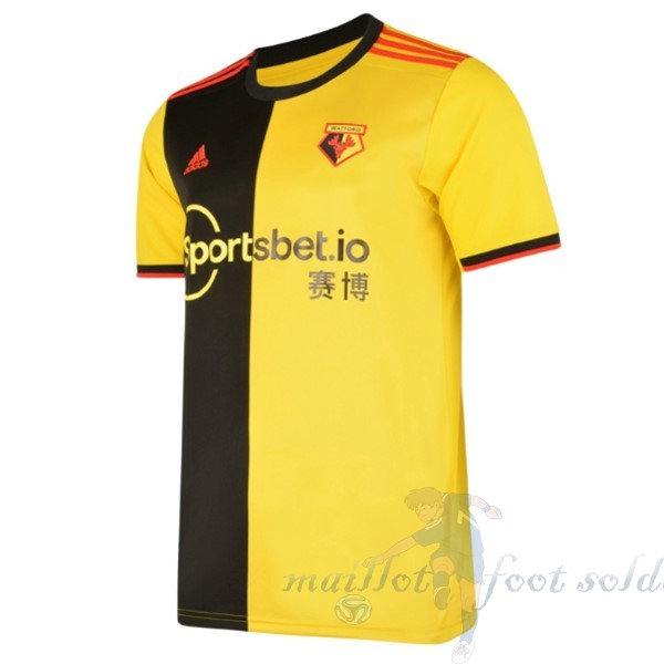 Pas Cher Maillot Foot adidas Domicile Maillot Watford 2019 2020 Jaune
